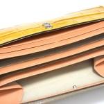 エルベートのレディース長財布(イエロー)