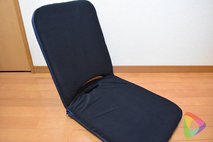 サンワダイレクトの折りたたみ座椅子