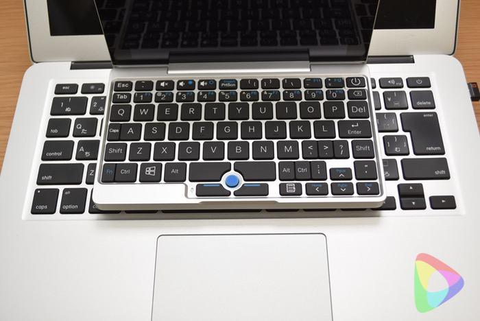 GPD Pocketのキーボード