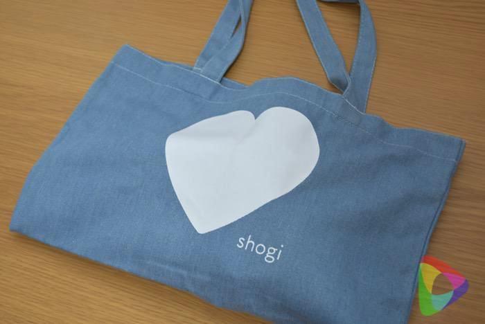 ハート将棋「♡shogi」持ち歩きに便利なbag