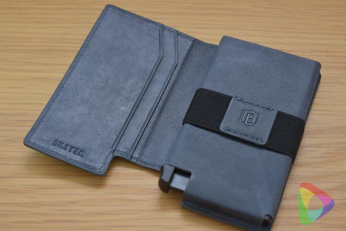 超薄型スマート財布「Parliament Wallet」