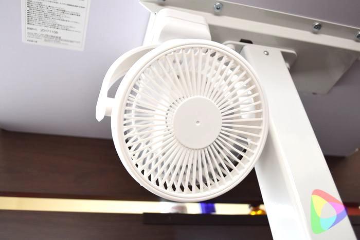 USB扇風機「400-TOY039W」の使い方