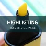 BOSS ORIGINAL Pastel