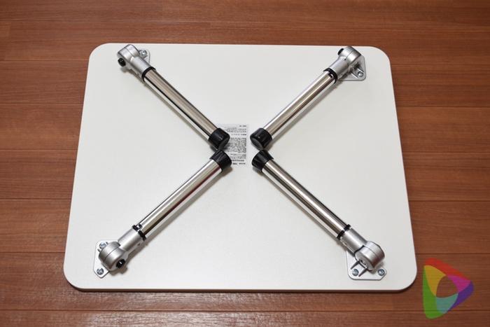 折りたたみデスク(100-DESKL006W)