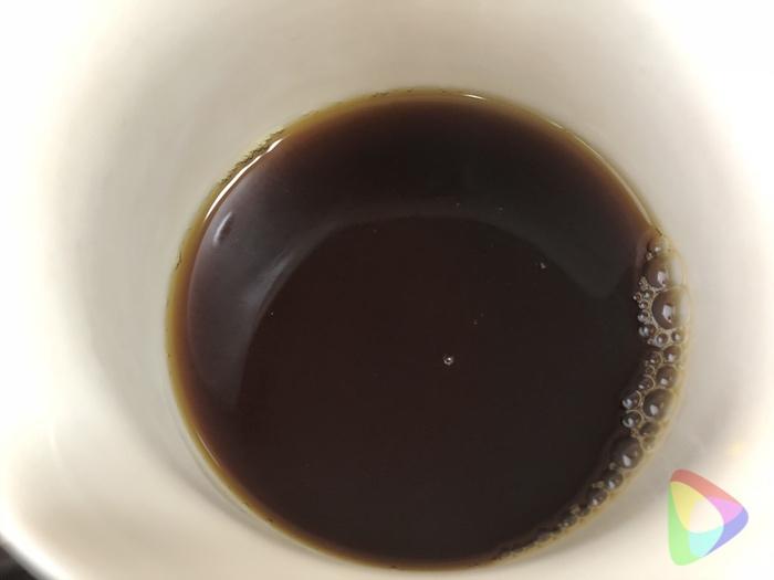 セラフィルターでコーヒー
