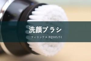 フィリップス 洗顔ブラシマウントセット RQ585/51