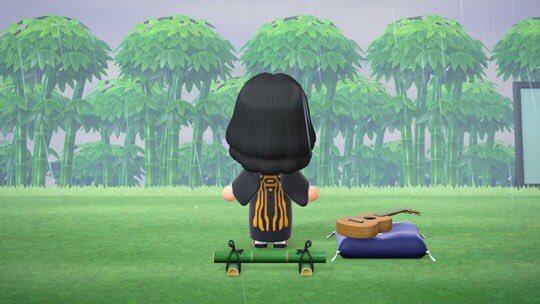 【あつ森】マイデザイン:鬼滅の刃「鳴女」の服