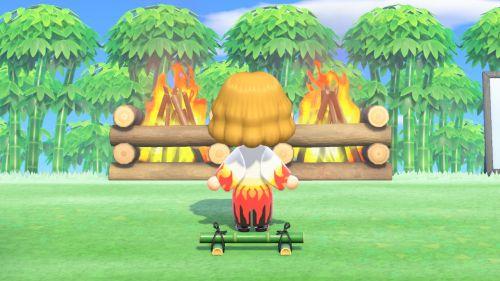 【あつ森】マイデザイン:鬼滅の刃「煉獄杏寿郎」の服