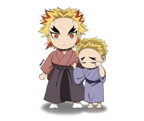煉獄杏寿郎と煉獄千寿郎