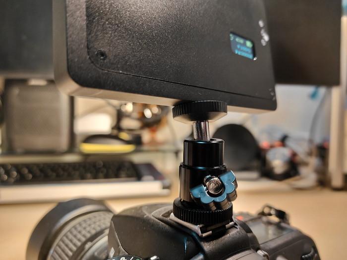 カメラLEDライト「200-DG019」