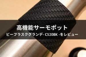 ビーフラスクグランデ- C520BK -をレビュー