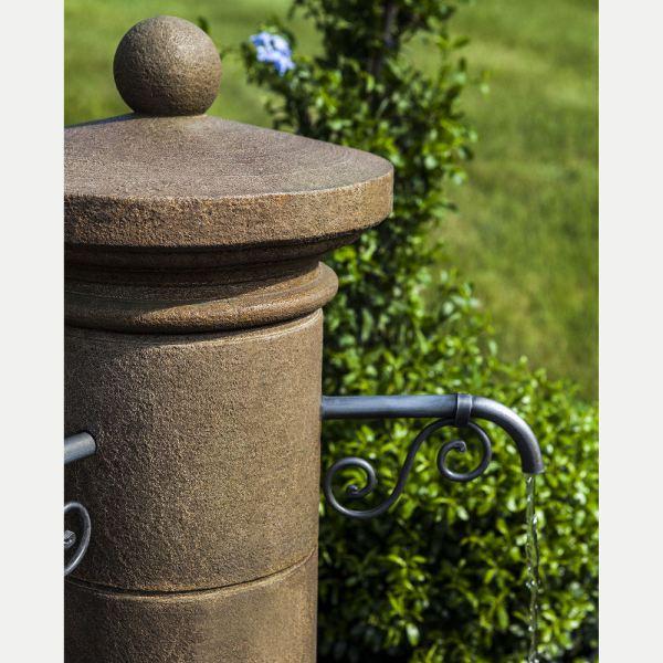 Avignon French Spigot Outdoor Water Fountain Kinsey Garden
