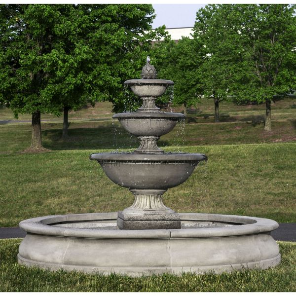 fonthill fountain in basin large
