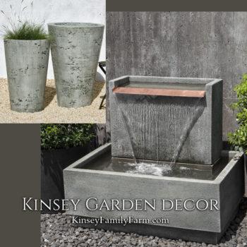 Modern Outdoor Fountains For Sale Kinsey Garden Decor