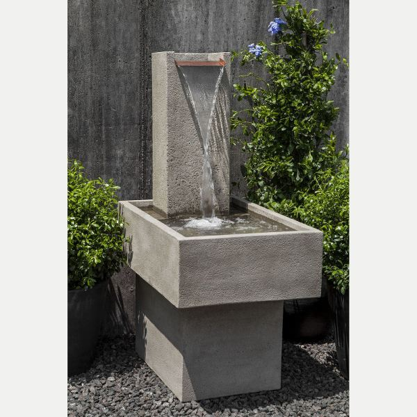 Modern Outdoor Water Fountain