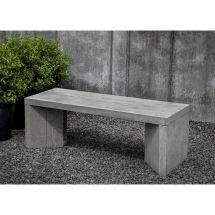 Modern Chenes Brut Stone 3 Piece Patio Set Kinsey Garden