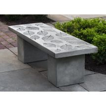 Hydrangea Leaf Garden Bench Patio Furniture Kinsey