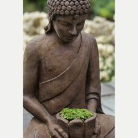 Serene Asian Lotus Buddha Outdoor Planter Kinsey Garden Decor