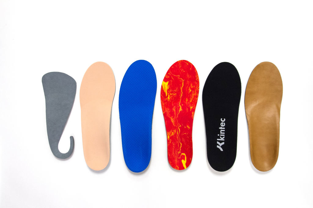 Custom orthotics vs. insoles