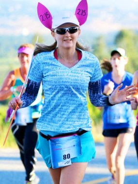 Kintec Abbotsford Running Clinic Leader, Courtney Leiren