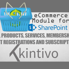 Kintivo eCommerce Module - SharePoint