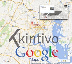 Kintivo Google Maps Web Part - Microsoft SharePoint