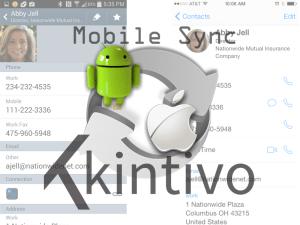 Kintivo Mobile Sync SharePoint