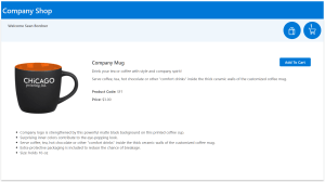 App Screen Cap: Kintivo Cart for SharePoint Online - Product Details