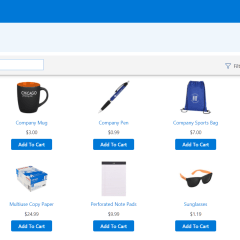 Kintivo Cart for SharePoint Online - screen shot