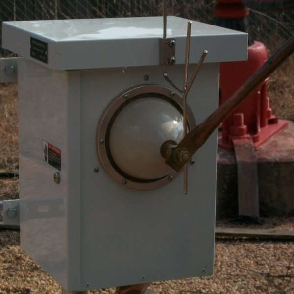 Installed Voltage Sampling Unit (VSU-1)
