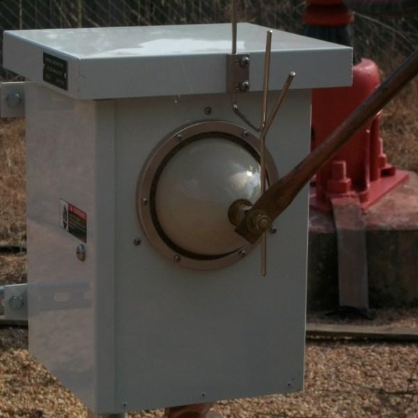 Installed Voltage Sampling Unit (VSU-1)