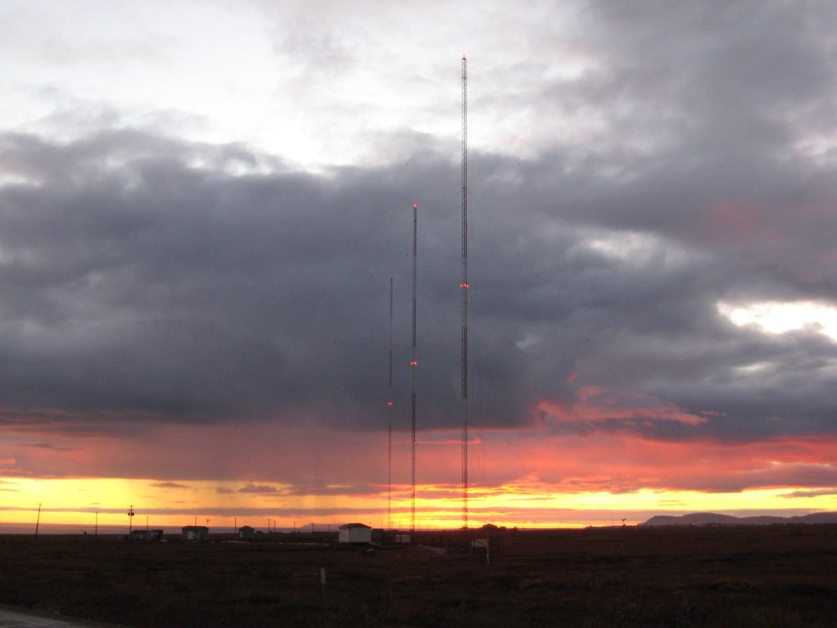 AM Guyed Tower Lighting