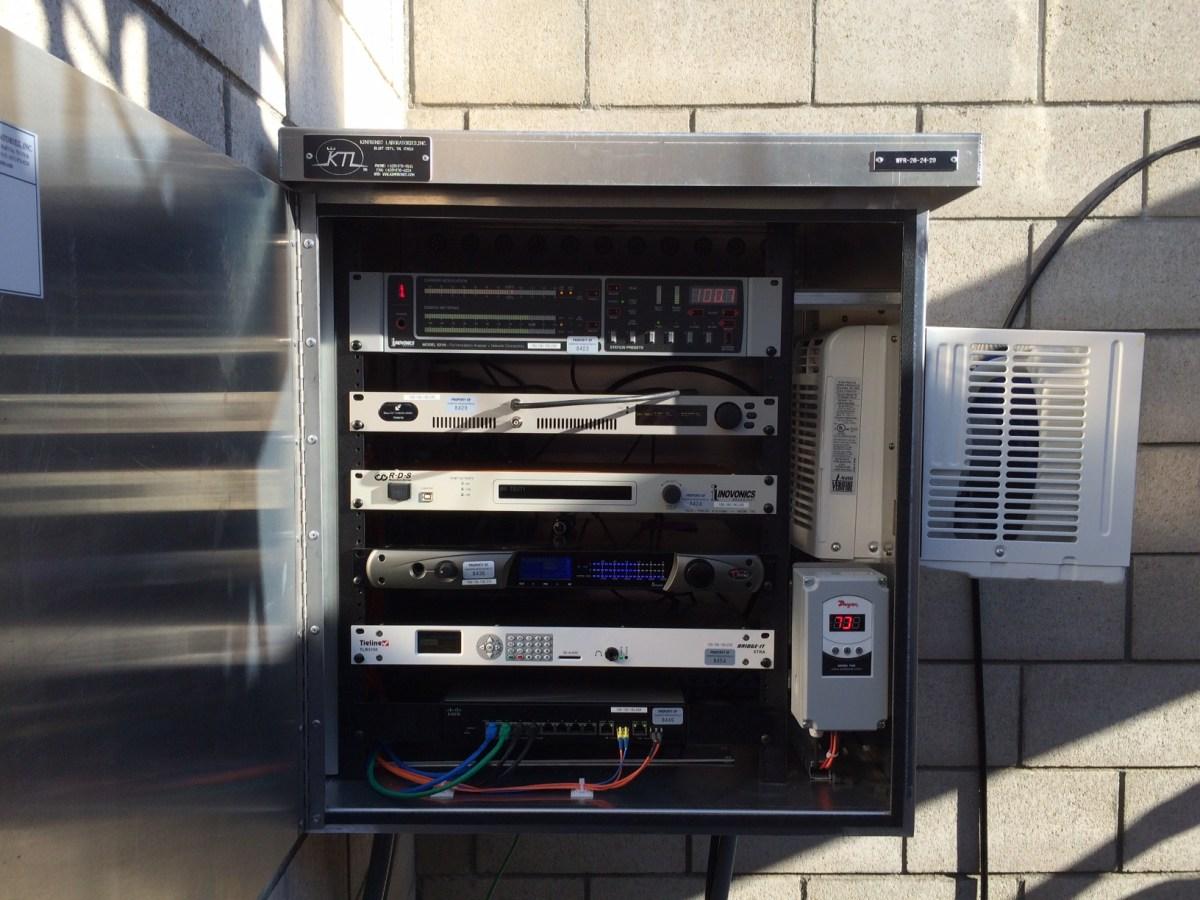 KBRT WPR-26-24-29 LPFM Equipment Rack