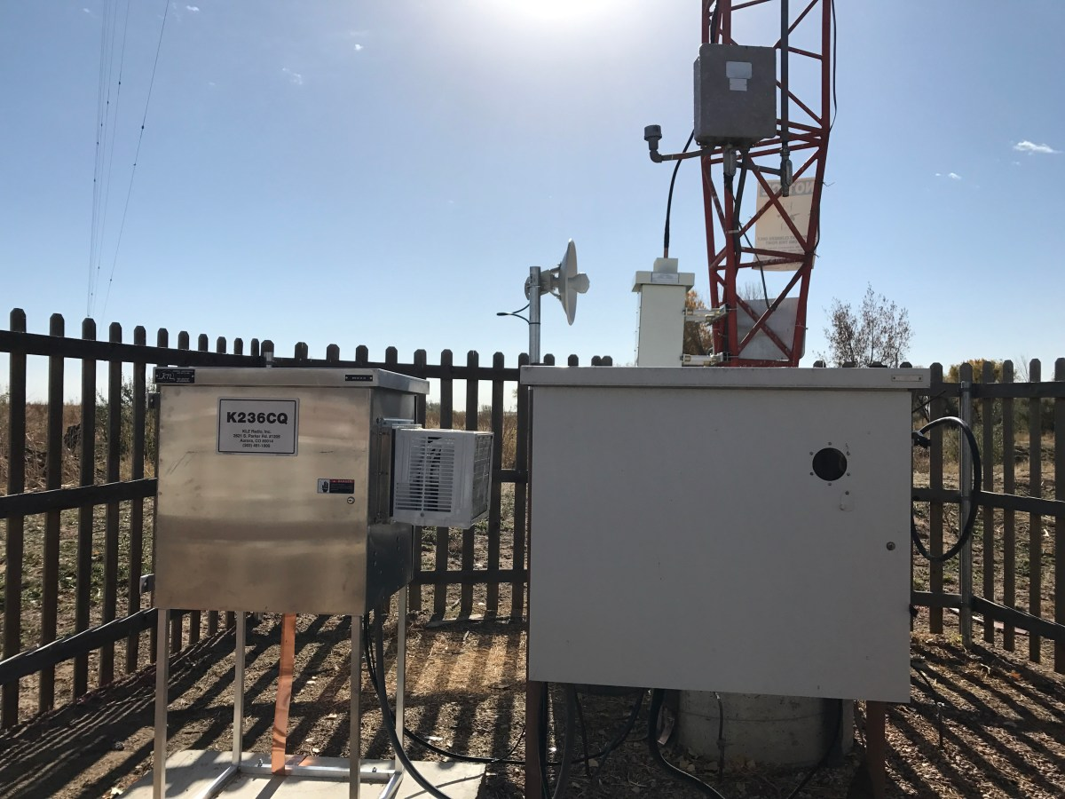 Climate-controlled weatherproof cabinet