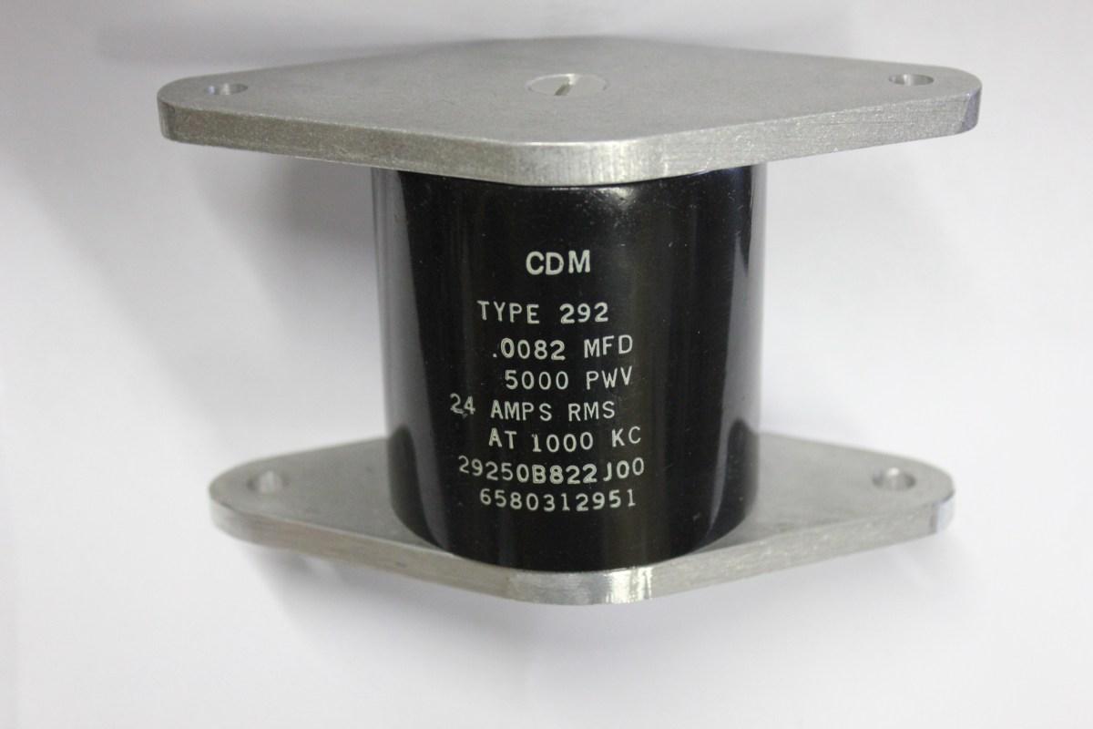 292-.0082MFD Mica Capacitor
