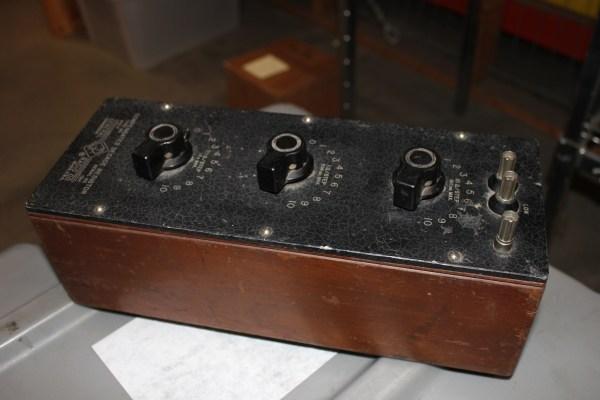 General Radio Compensated Decade Resistor 970-F