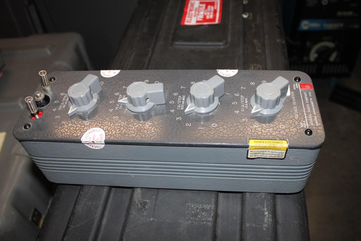 General Radio Decade Resistor Type 1432-K