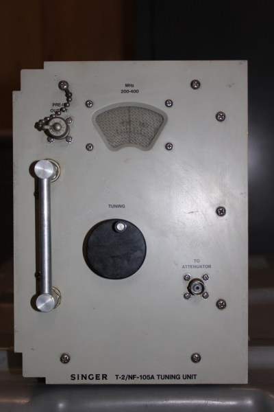 Singer T-2,NF-105A Tuning Unit