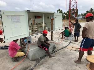 Radio Kiribati Installation