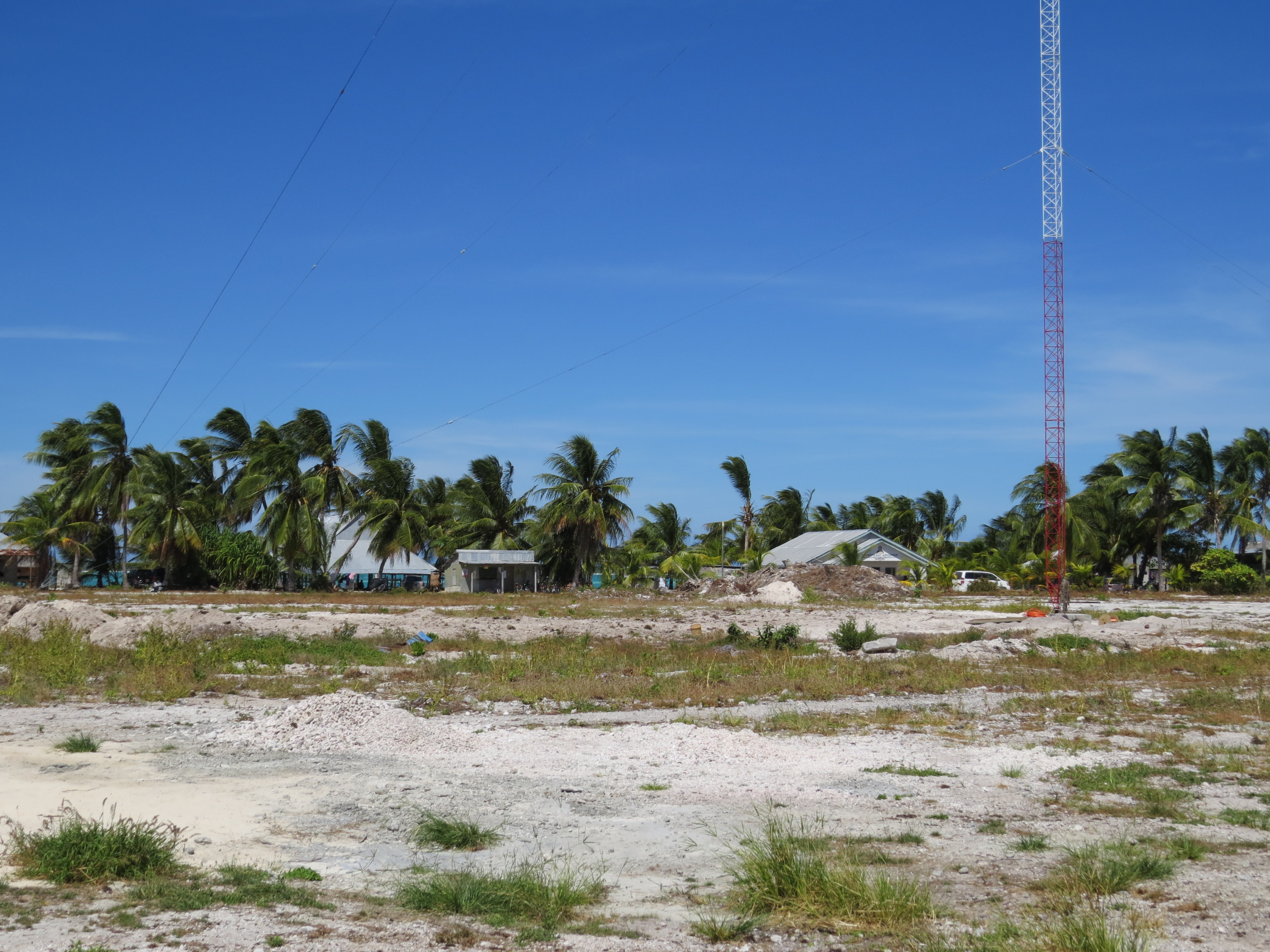 Kintronic Provides Complete AM Antenna System for Radio Kiribati