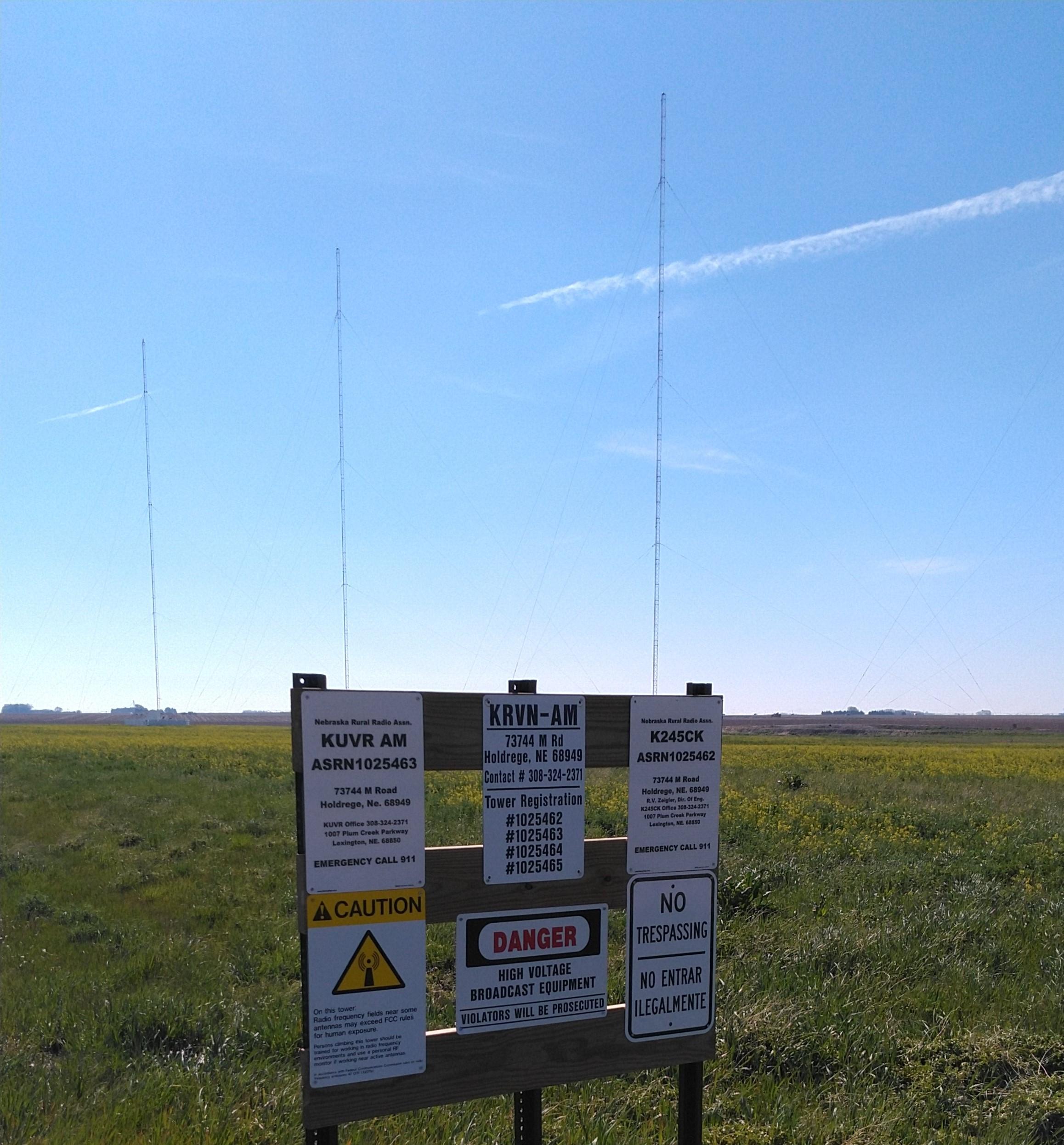 KUVR KRVN Nebraska Rural Radio Diplexer