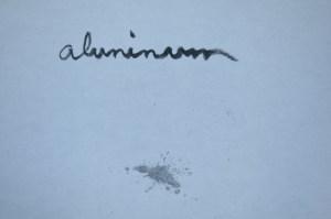 kintsugi aluminum raw