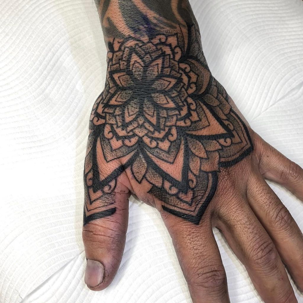 Tattoo Photo Gallery Hand