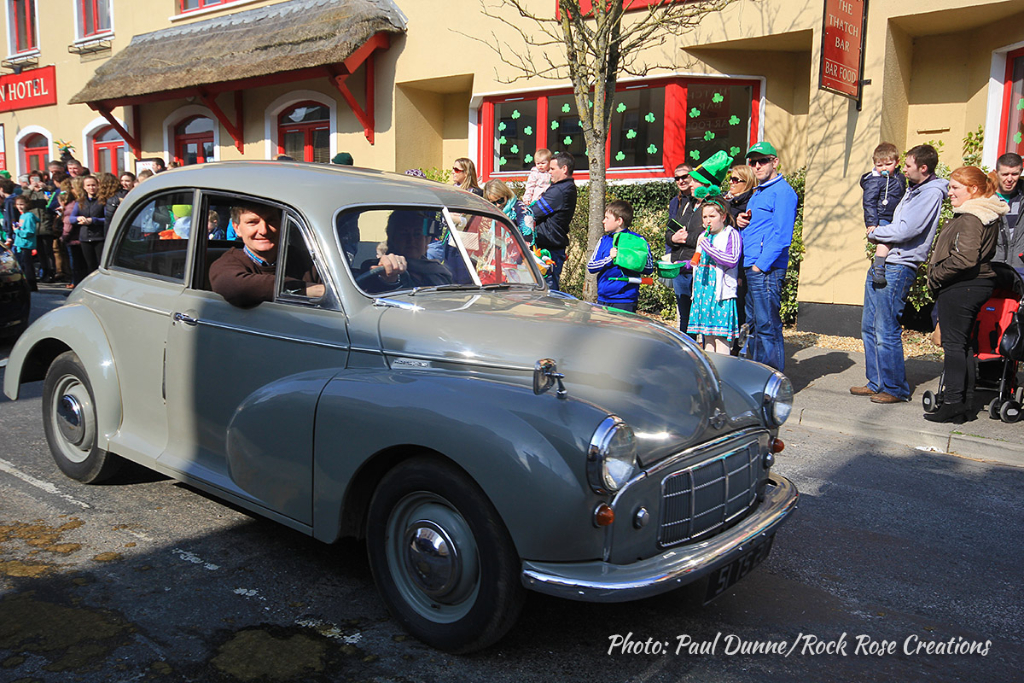 Naughton's Motor Car at the Kinvara St. Patrick's Day Parade