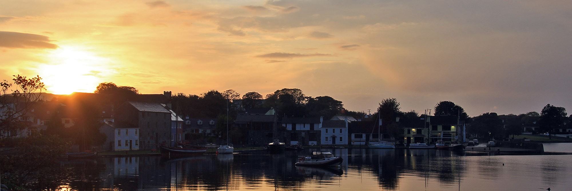 Sunset in Kinvara