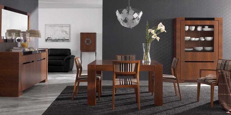 Comedor con aparador y vitrina Plenitude  Kiona Salamanca  Tienda de decoracin y muebles