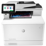 STAMPANTE HP MFC LASERJET COLOR PRO M479FDN W1A79A WHITE A4 27PPM 512MB ADF F/R LAN-USB LCD 600DPI 4IN1 EPRINT 1Y