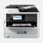 STAMPANTE EPSON MFC INK WORKFORCE PRO WF-C5710DWF POWER PDF C11CG03401PB 4IN1 A4 34PPM