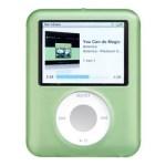 CUSTODIA SILICONE PER MP3 IPOD NANO A/MPC-N3SG TERZA GENERAZIONE VERDE