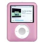 CUSTODIA SILICONE PER MP3 IPOD NANO A/MPC-N3SP TERZA GENERAZIONE ROSA